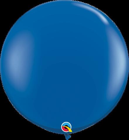 sapphire blue latex