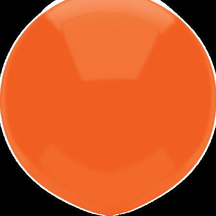 """17"""" bright orange latex"""