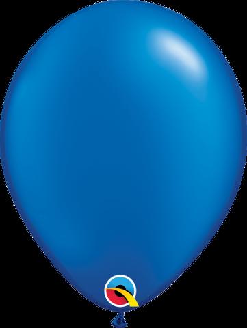 """43786 Pearl Sapphire Blue 11"""" Latex"""