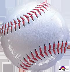 117030 Baseball Mylar Balloon
