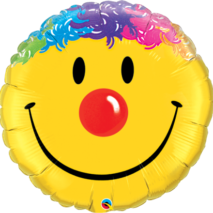 Smile Face Mylar Balloon