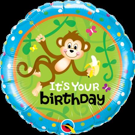 49927 Birthday Monkeys - Go Bananas Mylar Balloons