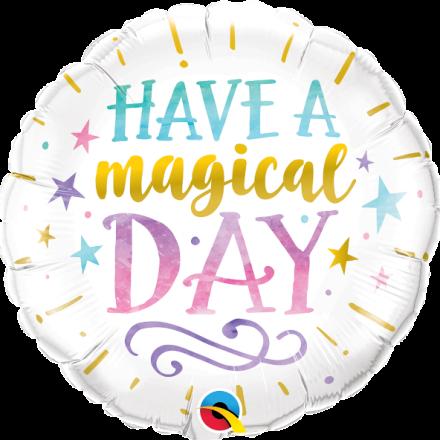 Have a Magical Day Mylar Balloon