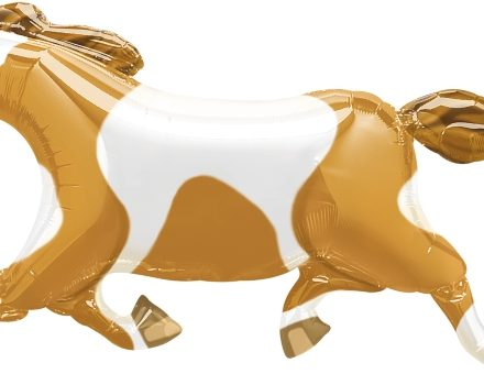 "08937 Painted Pony 41"" x 23"" Mylar Balloon"