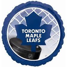 """113807 Toronto Maple Leafs 18"""" Mylar Balloon"""