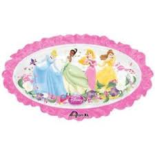 "Princess 31"" x 18"" Mylar Balloon"