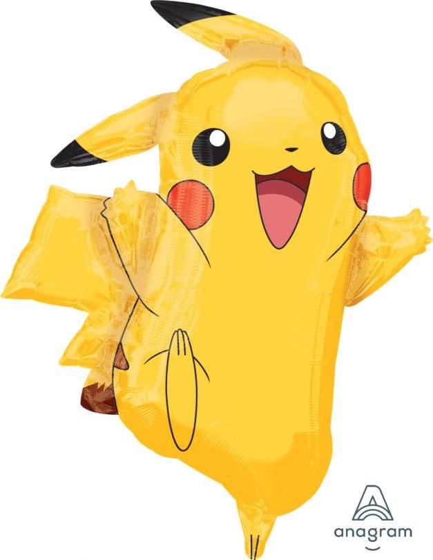 "Pikachu 24.5"" x 31"" Mylar Balloon"