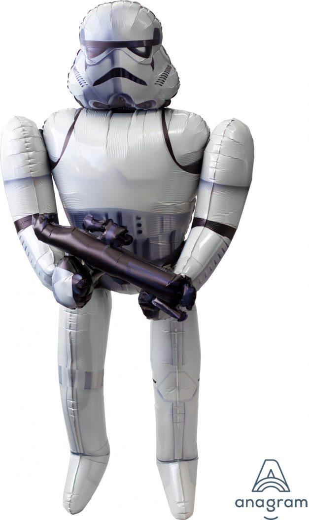 "Storm Trooper Air Walker 33"" x 70"" Mylar Balloon"