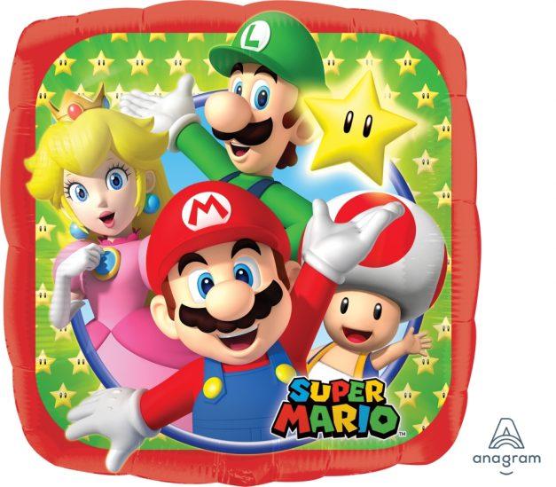 Mario Mylar Balloon