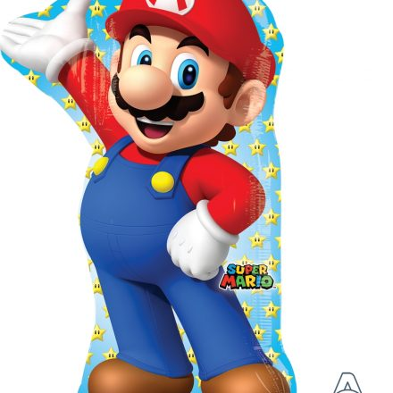 "Super Mario 22"" x 33"" Mylar Balloon"