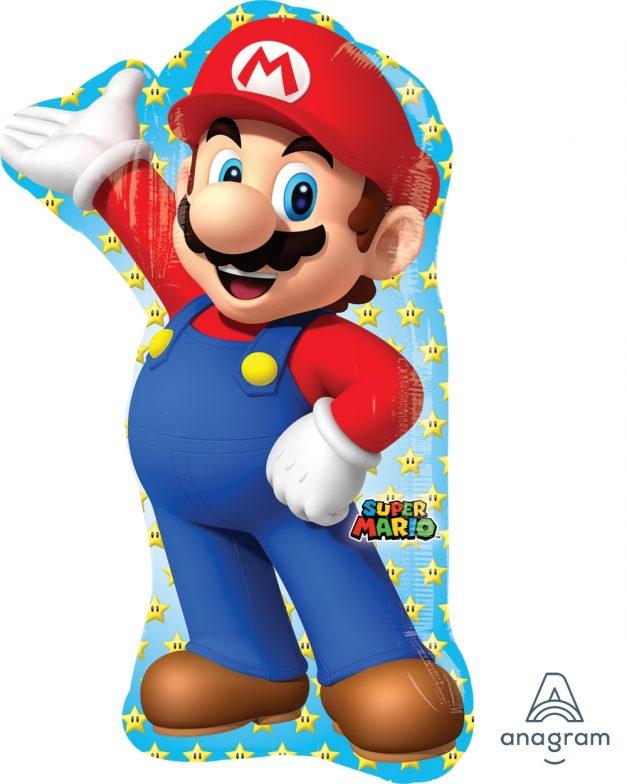 "Super Mario 22"" x 33"" Mylar Balloon"