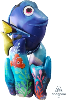 "32315 Finding Dory Air Walker 31"" x 55"" Mylar Balloon"