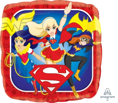DC Super Hero Girls Mylar Balloon