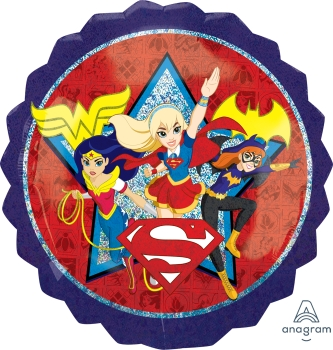 "DC Super Hero Girls 28"" Mylar Balloon"
