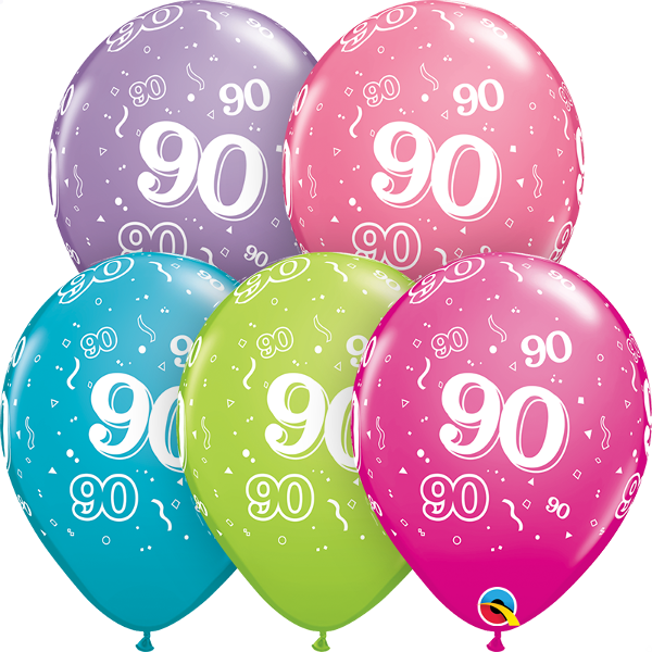 46707 #90 trendy assortment latex balloon