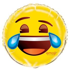 Crying Eye Emoji Mylar Balloon