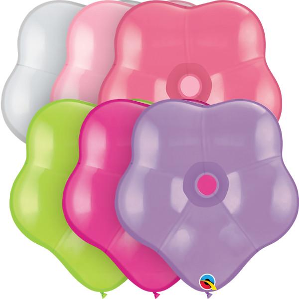 87171 Flower Assortment 16 inch Latex Balloon