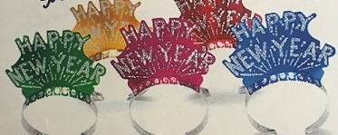 Gllitter Happy New Year Tiara