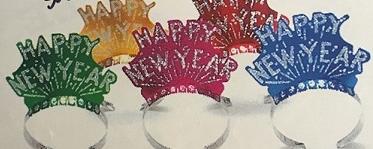 Gllitter Happy New Year Tiara