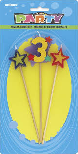 #3 Pick Candle 7""