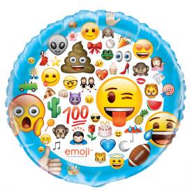 "50618 Emoji 34"" Mylar Balloon"