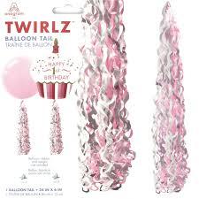 Pink & White Twirlz