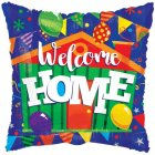 welcome home colourful mylar balloon
