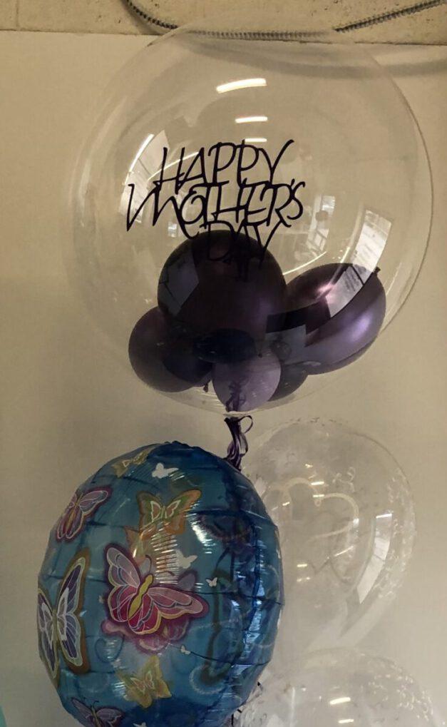 Mothers day custom bubble balloon